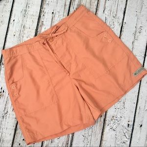 Columbia Shorts Short Small Orange